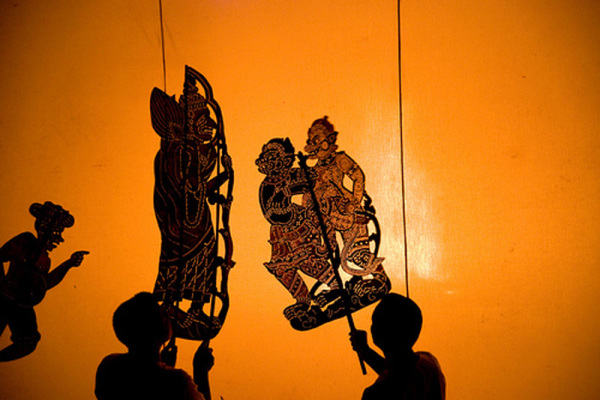 Индийский театр теней