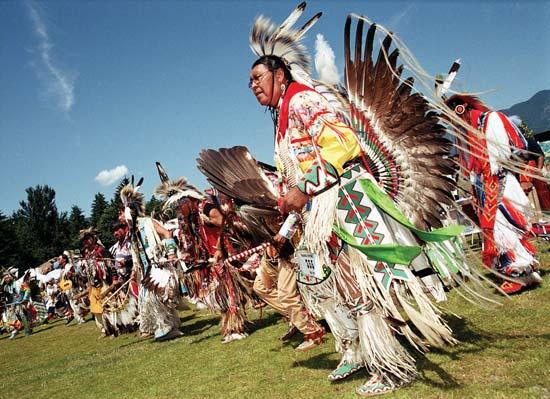 Традиционные танцы Северной Америки