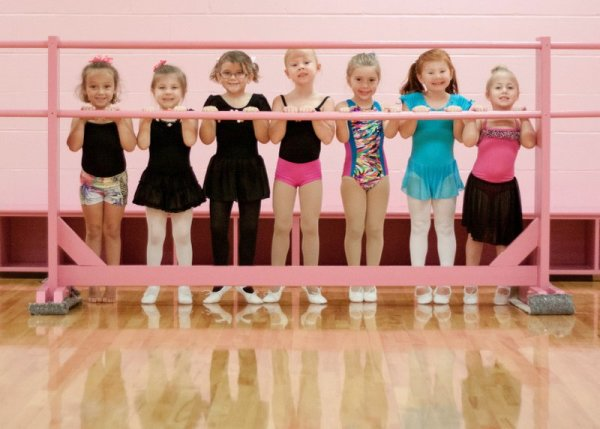 Малыши и балет