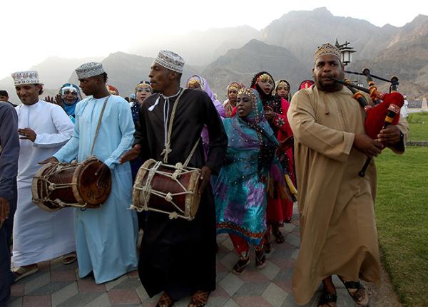 Традиционные танцы Омана