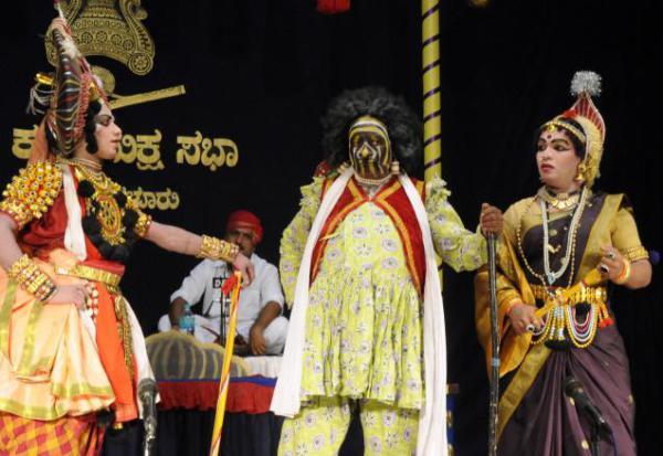 Народный театр в Индии