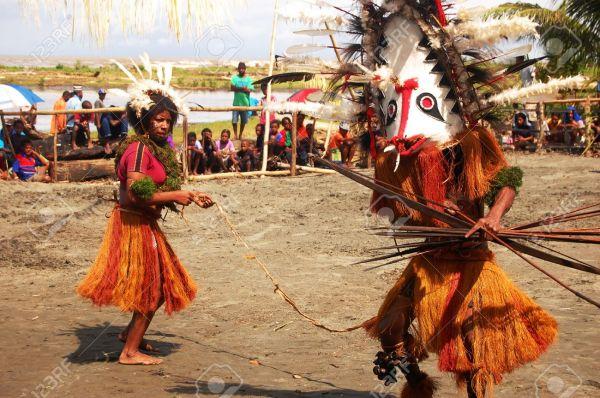 Традиционные танцы Папуа-Новой Гвинеи