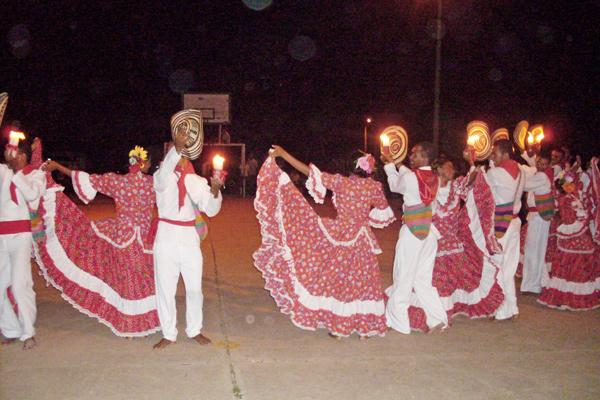 Танцы карибского побережья Колумбии
