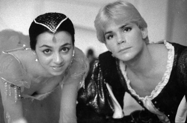 Андрис Лиепа и Нина Ананиашвили