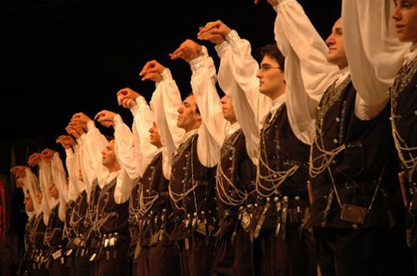 Турецкий танец хорон.