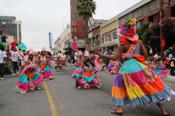 Танцы острова Гаити
