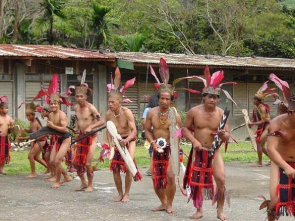 Филиппинские горные танцы