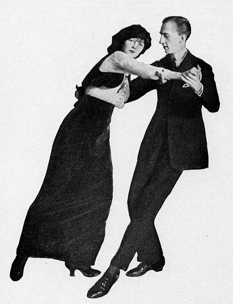 Танцы регтайм