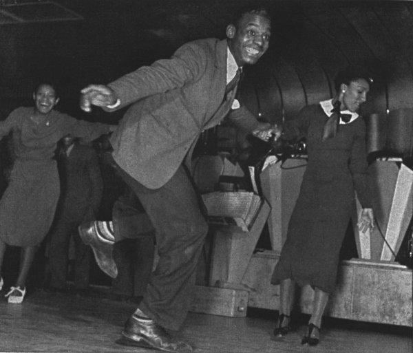 Джазовые танцы в США
