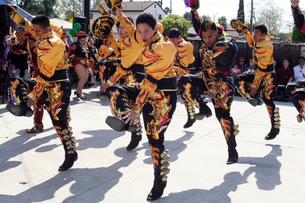Танец надсмотрщиков - Caporales