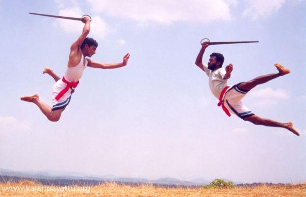 Каларипаятту - древний танец и боевое искусство Индии