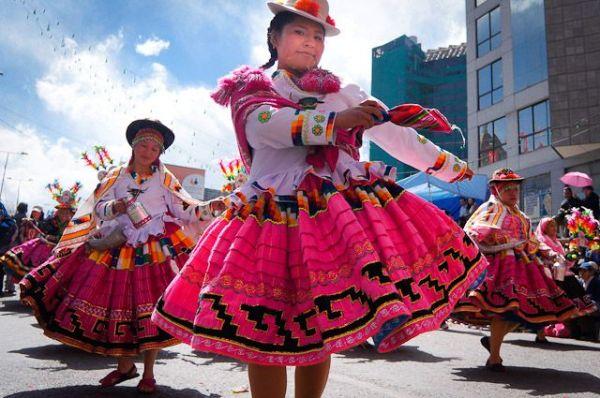 Традиционные танцы Южной Америки