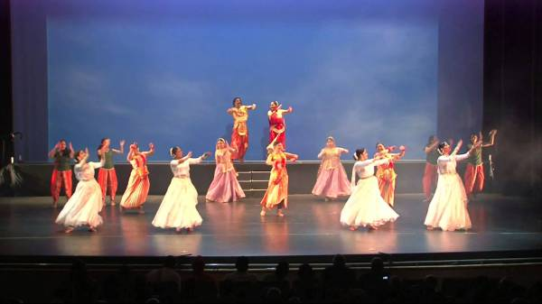 Танцевальная постановка Шакунтала