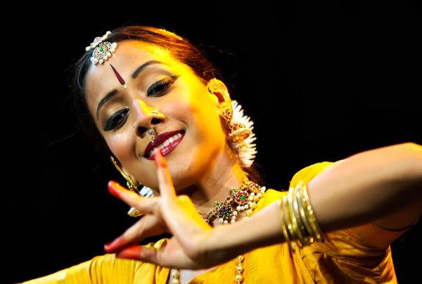 Древний индийский танец бхаратнатьям