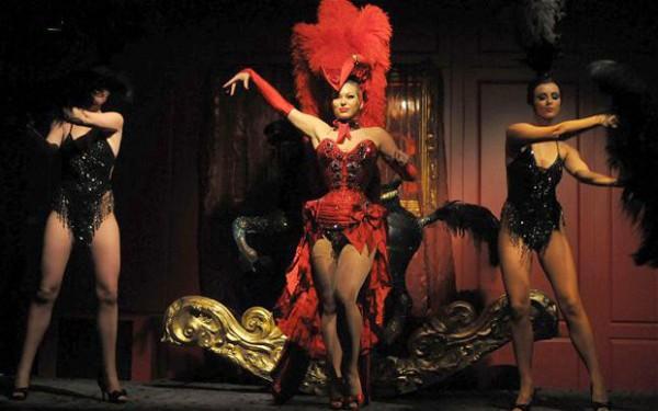 Эротический танец бурлеск