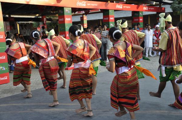 Танцы северо-востока Индии - традиции Мегхалаи