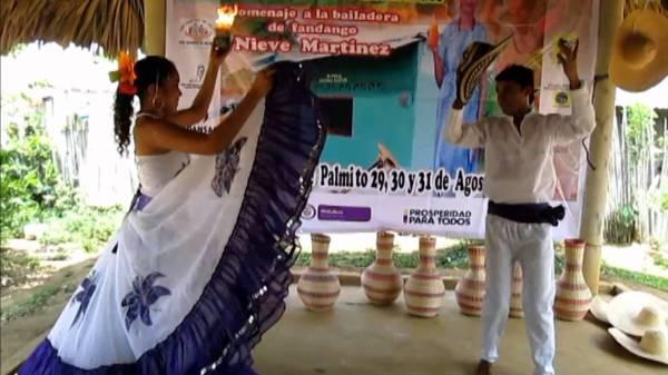 Страстный испанский танец фанданго