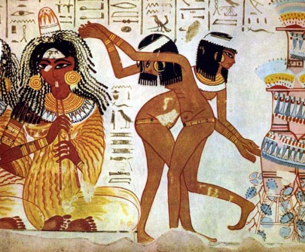Танцы Древнего Египта