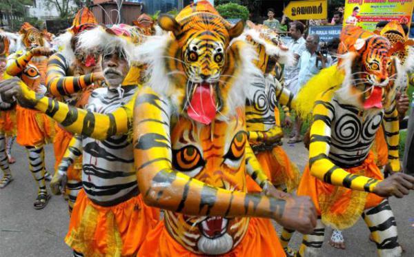 Индийский танец тигра