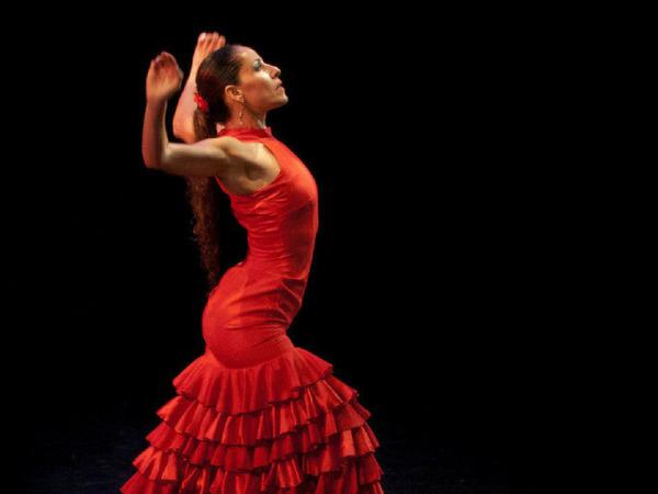 Зажигательный испанский фламенко