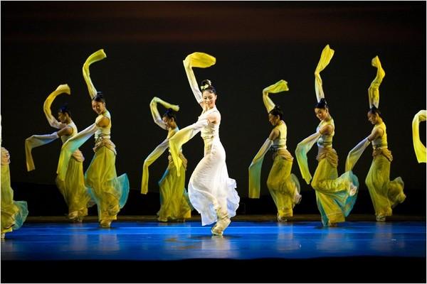 Придворные танцы Китая