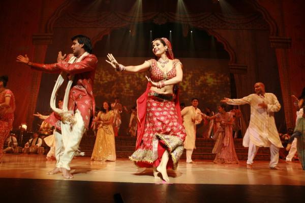 Индийские танцы по Махабхарате