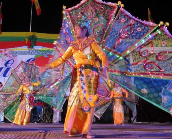 Киннари - классический танец Камбоджи