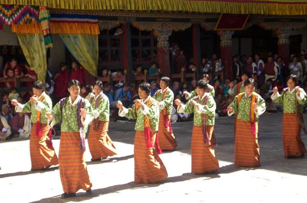 Танцы Бутана