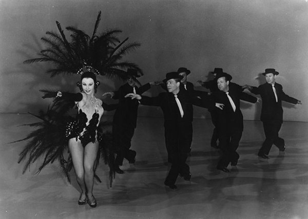 Танцы на Западе в 20 веке