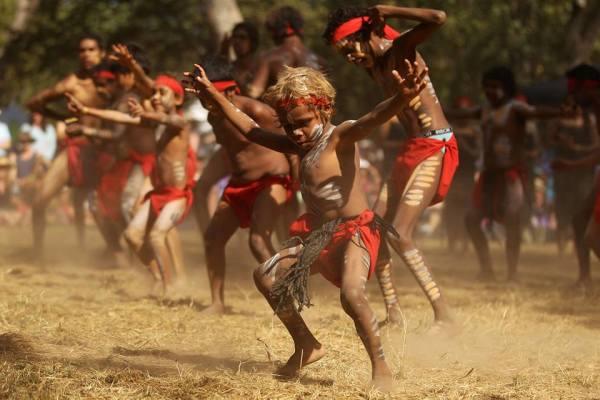 Австралийские танцы аборигенов