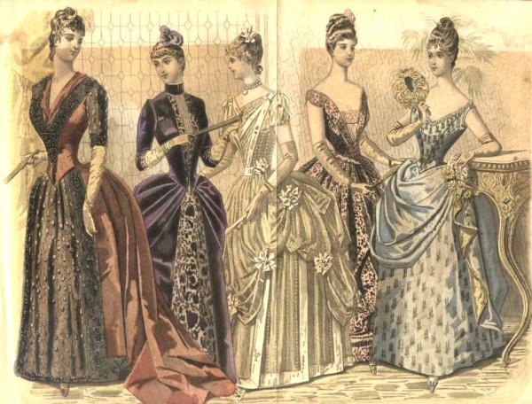Танцы в США в 19 веке