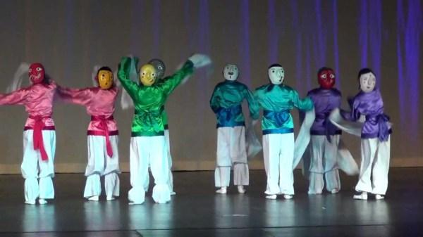 Корейский театр масок