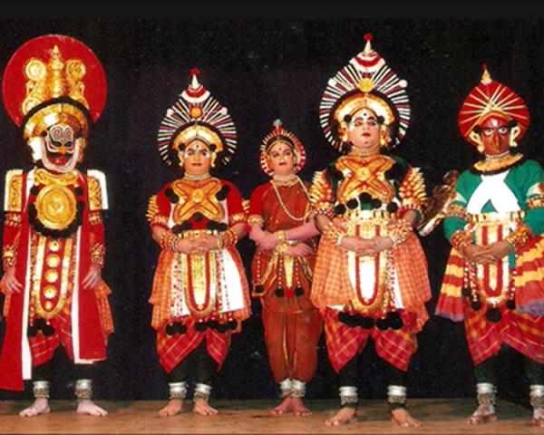 Народный индийский театр якшагана