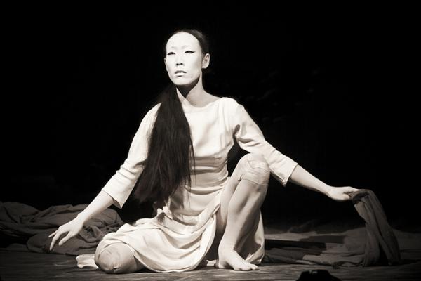 Современный японский танец - буто