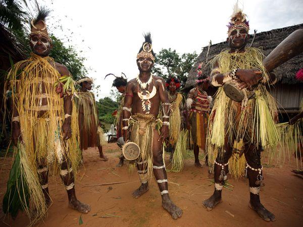 Танцы в Меланезии