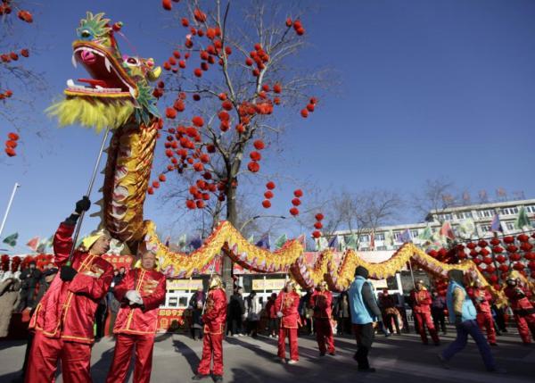 Народные танцы Китая