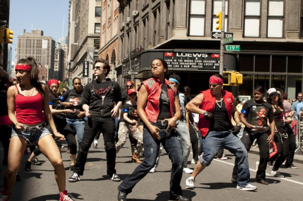 Парад танца в Нью-Йорке