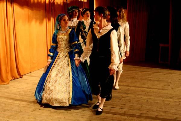 Аллеманда - танец 16-18 века