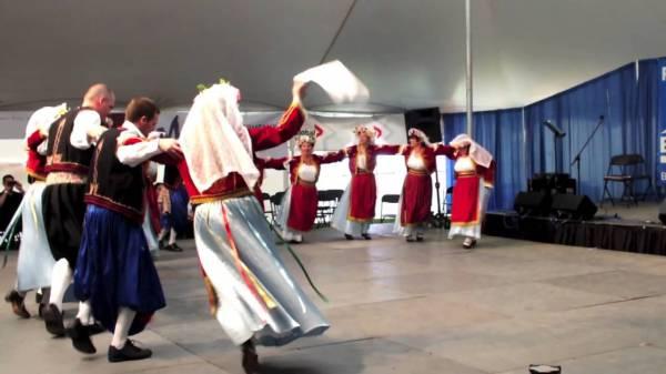 Танцы греческих островов