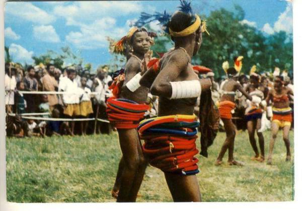 Охого - мистический танец Бенина