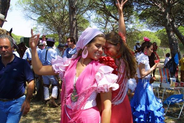 Испанский народный танец севильяна