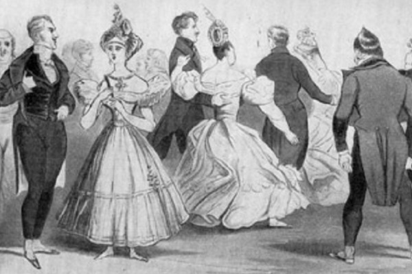 Танцы романтической эпохи