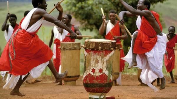Традиционные африканские танцы
