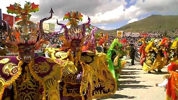 La diablada - дьявольский танец