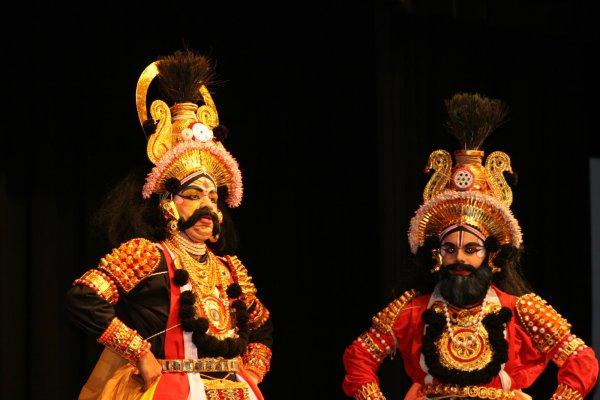 Якшагана - индийская танцевальная опера штата Карнатака