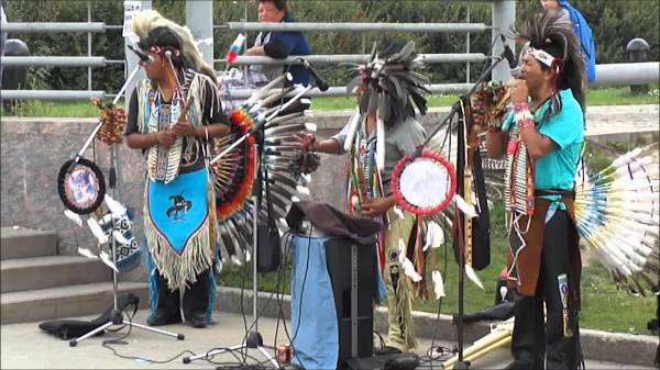 Традиционные танцы индейцев севера Южной Америки