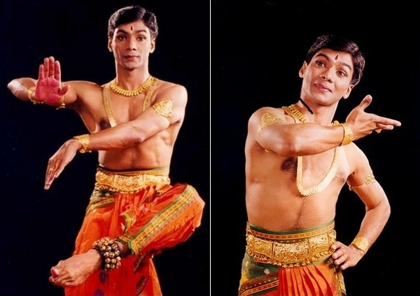 Бхаратанатьям в исполнении танцующего иезуита