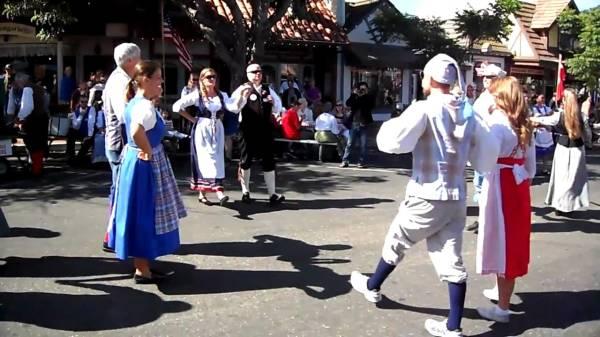 Датский народный танец