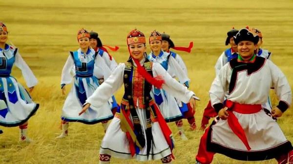 Народные танцы Монголии