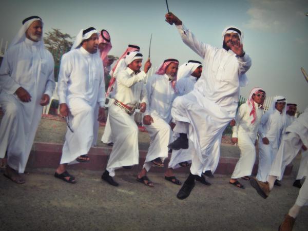 Арабский танец с мечами - арда